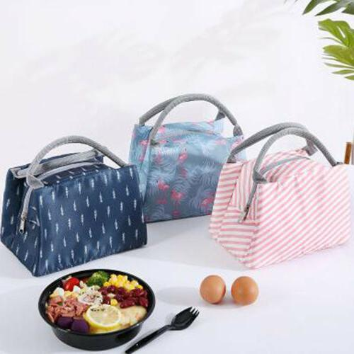 Lunch Bag Tote Box Hot Food Men Women