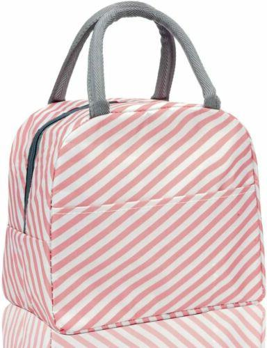 Lunch Women Insulated Tote Durable Thermal Cooler Container