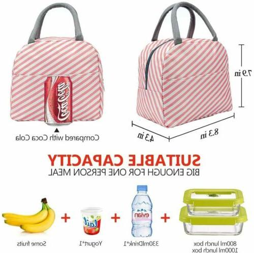 Lunch Bags for Insulated Tote Durable Fashion Thermal &