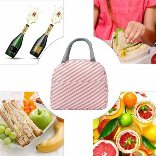 Lunch Bags Insulated Tote Durable Fashion Thermal