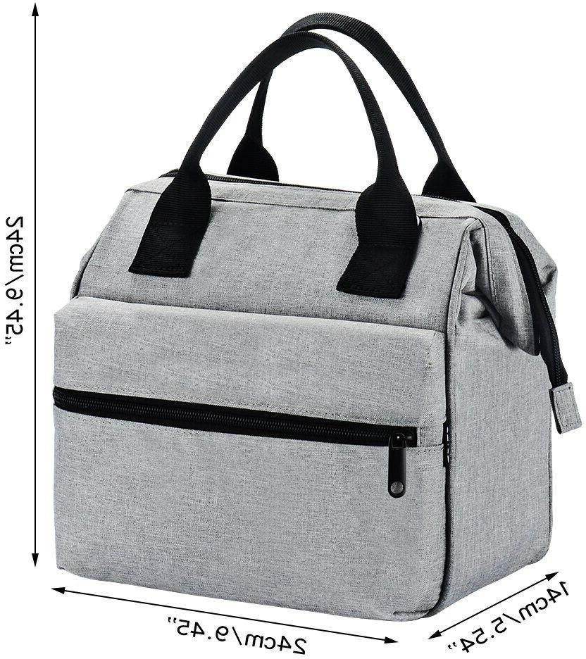 Srise Lunch Box Insulated Lunch Bag and Lunch Tote Boxes