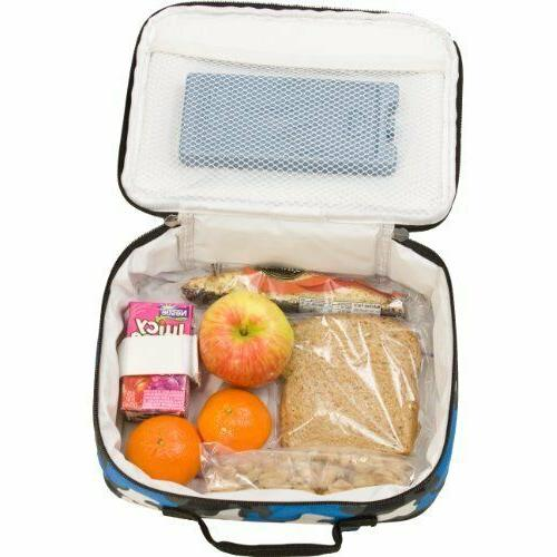 lunch box insulated moisture resistant easy clean