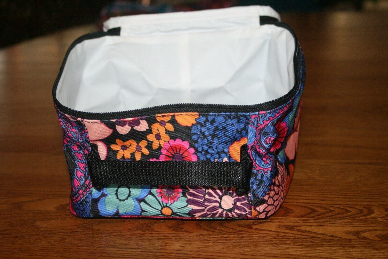 Vera LUNCH LIGHTEN UP insulated bag tote NWT