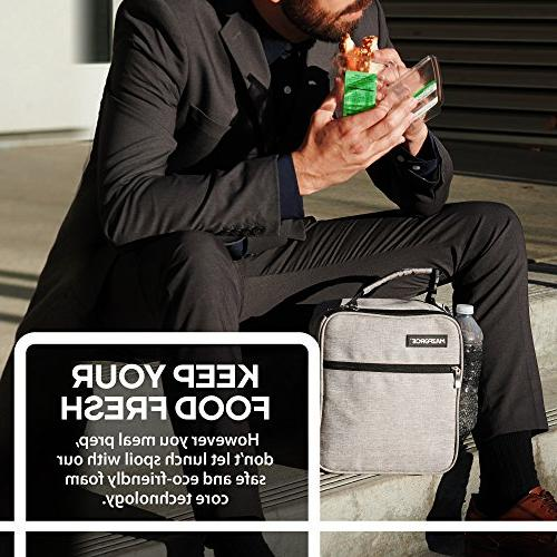 MAZFORCE Lunch Insulated Tough & Lunchbox Seize Your Day