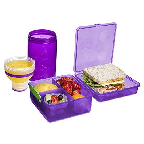 Sistema Lunch Box Bottle Pack, Color Received May