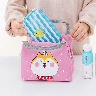 Lunch Box Cool Bag School Kids Boxes US