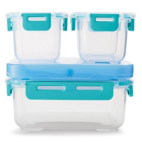 Rubbermaid LunchBlox Leak-Proof Lunch Container Blue