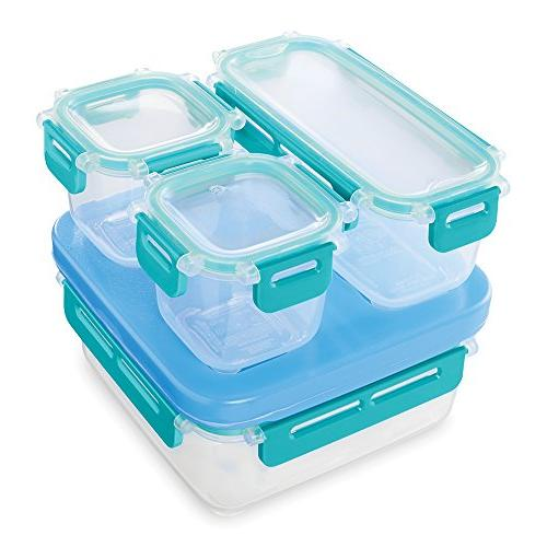 Rubbermaid LunchBlox Lunch Container Set, Small, Blue 2000664
