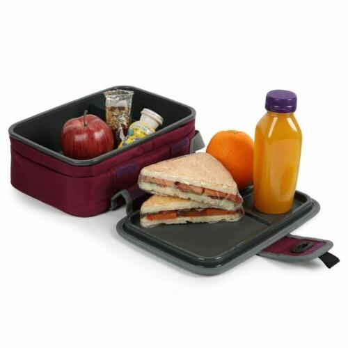 Arctic Zone Lunch Box Bag Food Tray Student W