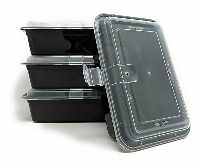 Meal Prep Containers Storage Plastic Lids