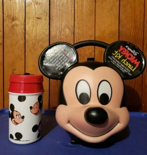 mickey mouse 70 s vintage lunch box