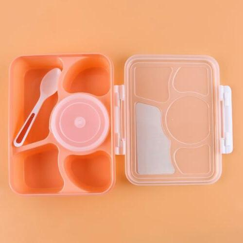 Microwave Lunch Picnic Food Container Box For Kids Adult