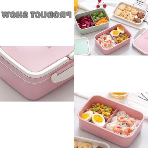 Microwave Bento Lunch Box Storage For Kids Adult