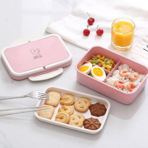 Microwave Lunch Box Picnic Container Storage Box Adult