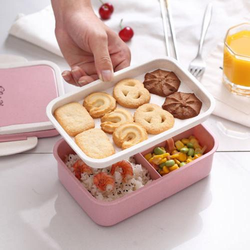 Microwave Lunch Box Picnic Fruit Storage