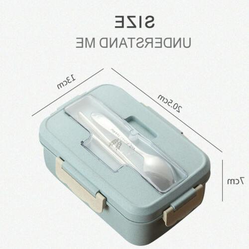 Microwave Wheat Straw Lunch Storage Container