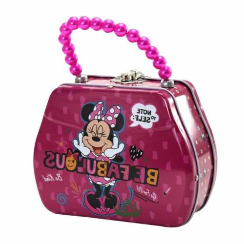 minnie bowtique lunch boxes purse shaped tin