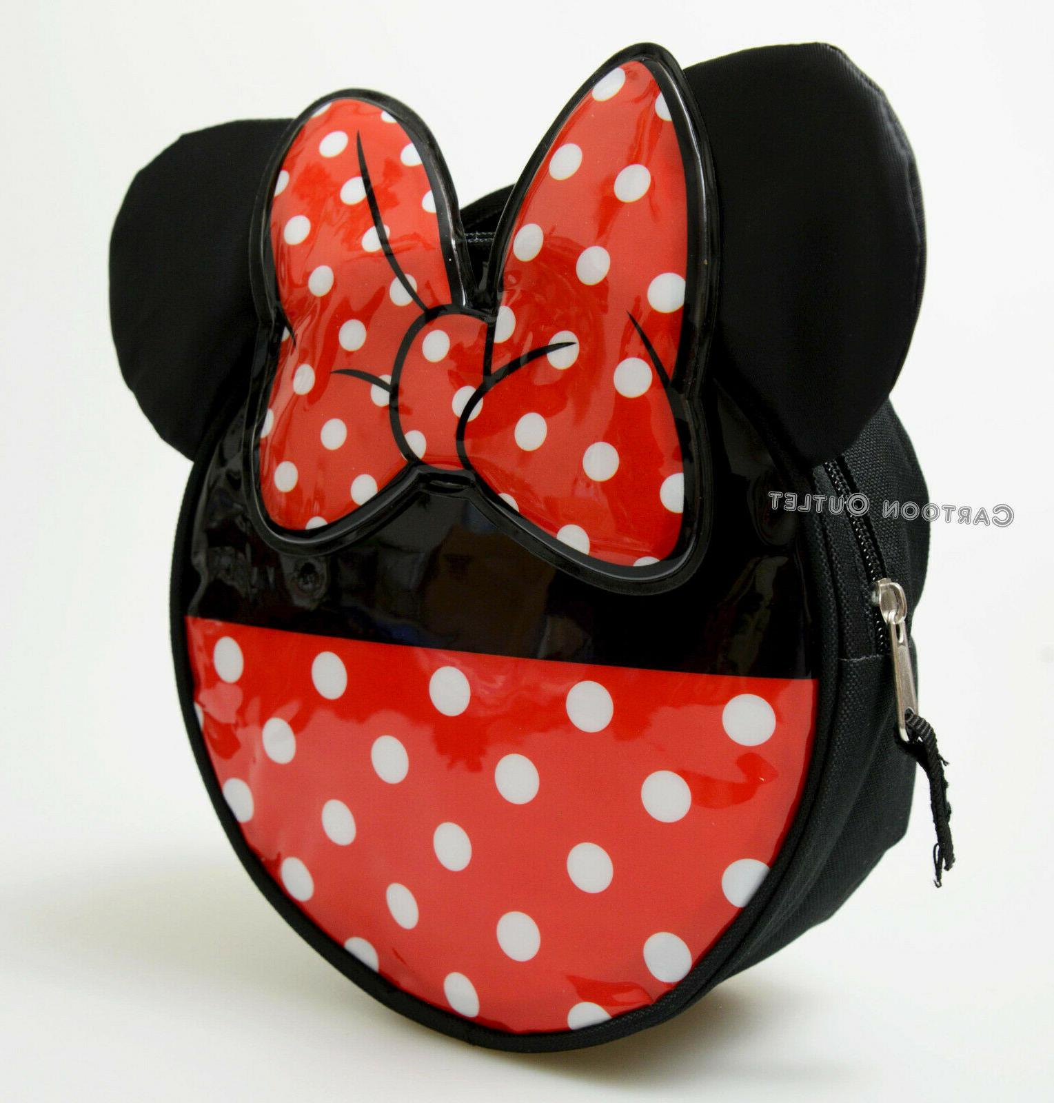 MINNIE MOUSE INSULATED LUNCH TRAVEL SCHOOL DISNEY