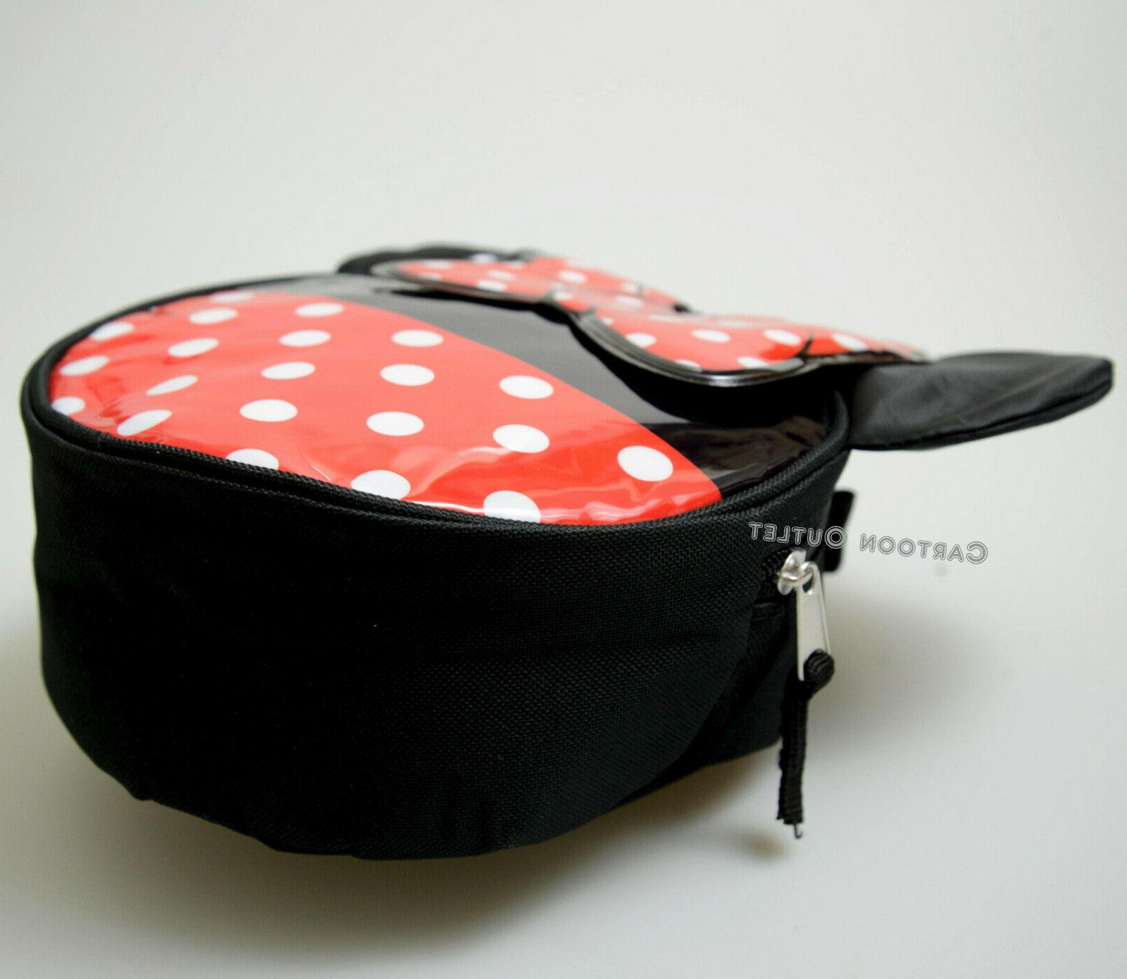MINNIE INSULATED LUNCH BOX TRAVEL DOTS DISNEY