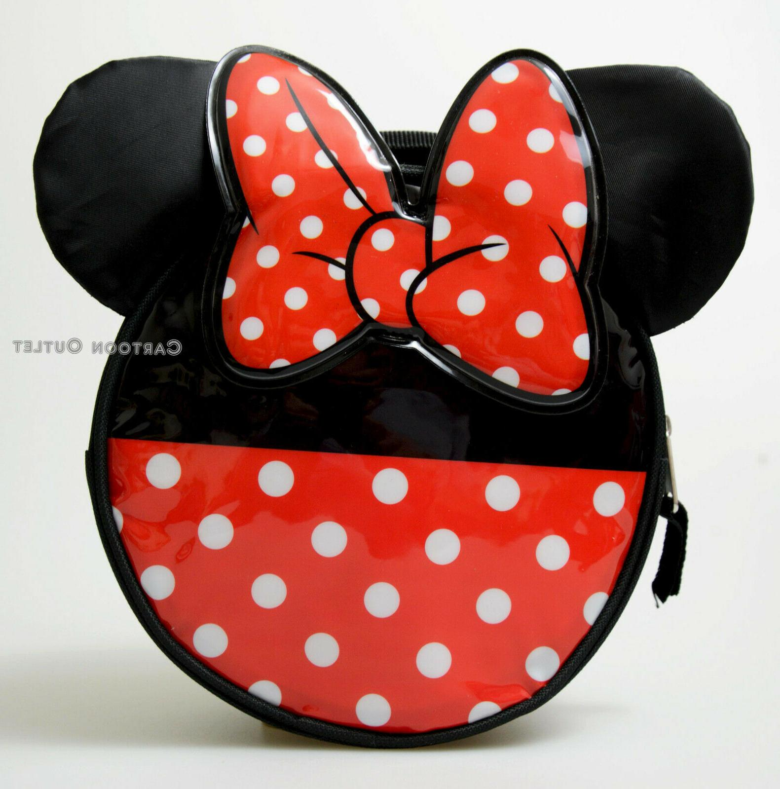 minnie mouse ears kids insulated lunch box