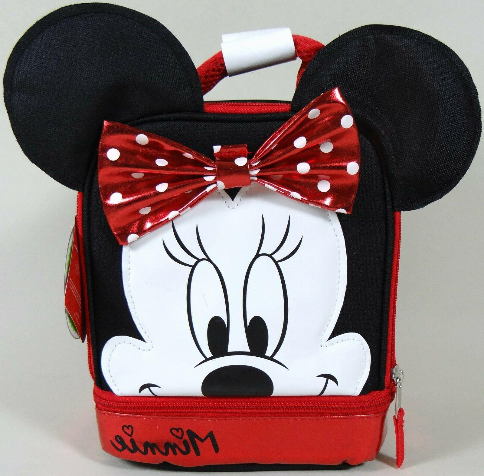 minnie mouse lunch box bag thermal padded