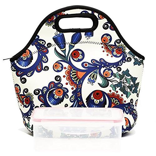 Neoprene Insulated For Women Box For Lunch Tote Bag Kids -