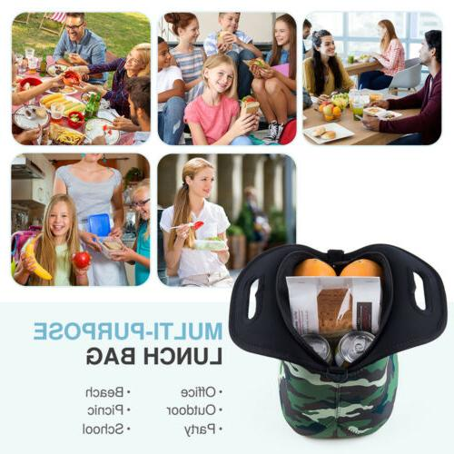 Insulated Lunch Bags for Men Lunch Neoprene Box