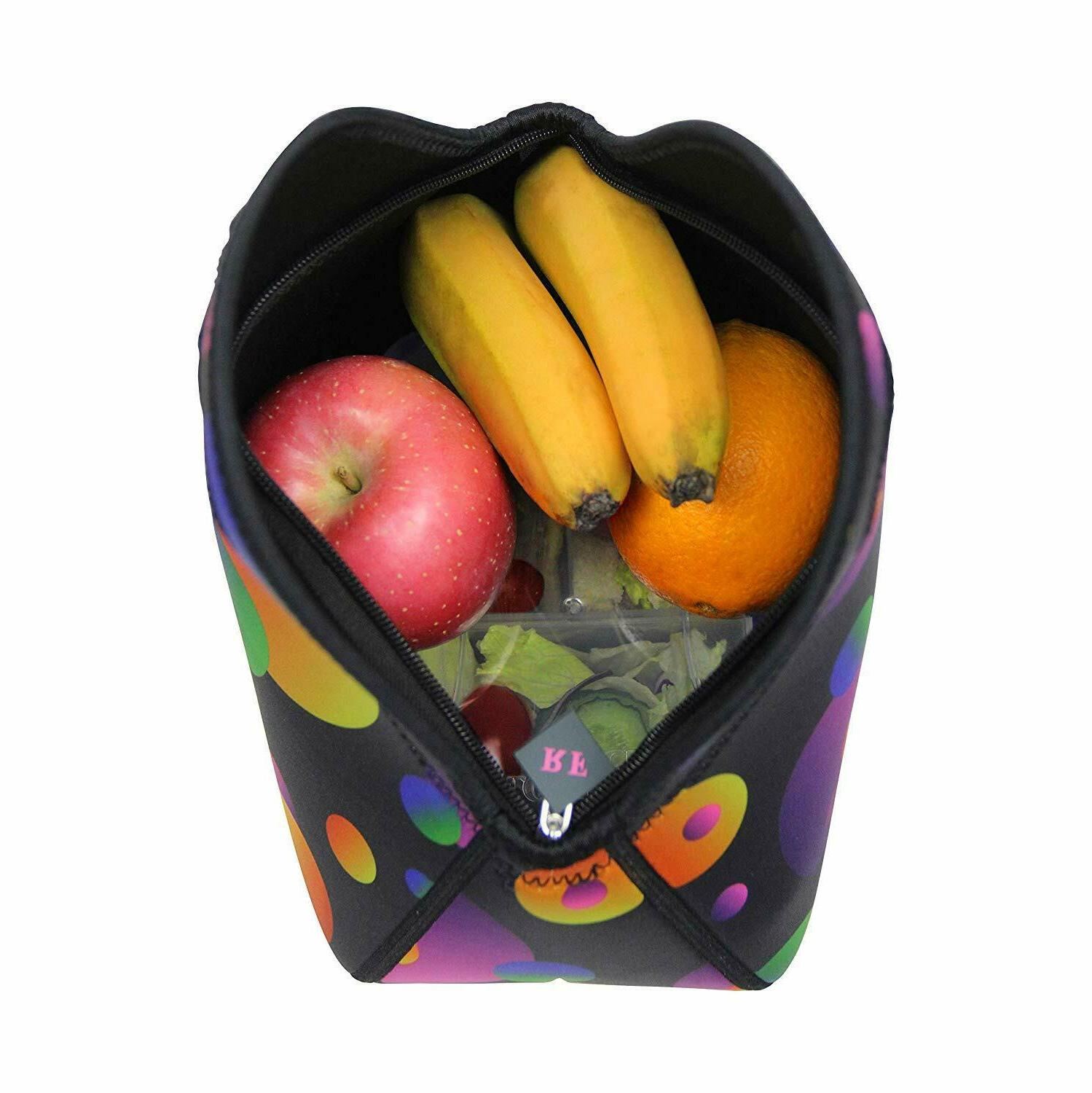 Neoprene Lunch Bag Tote Reusable Boxes Suit Boys