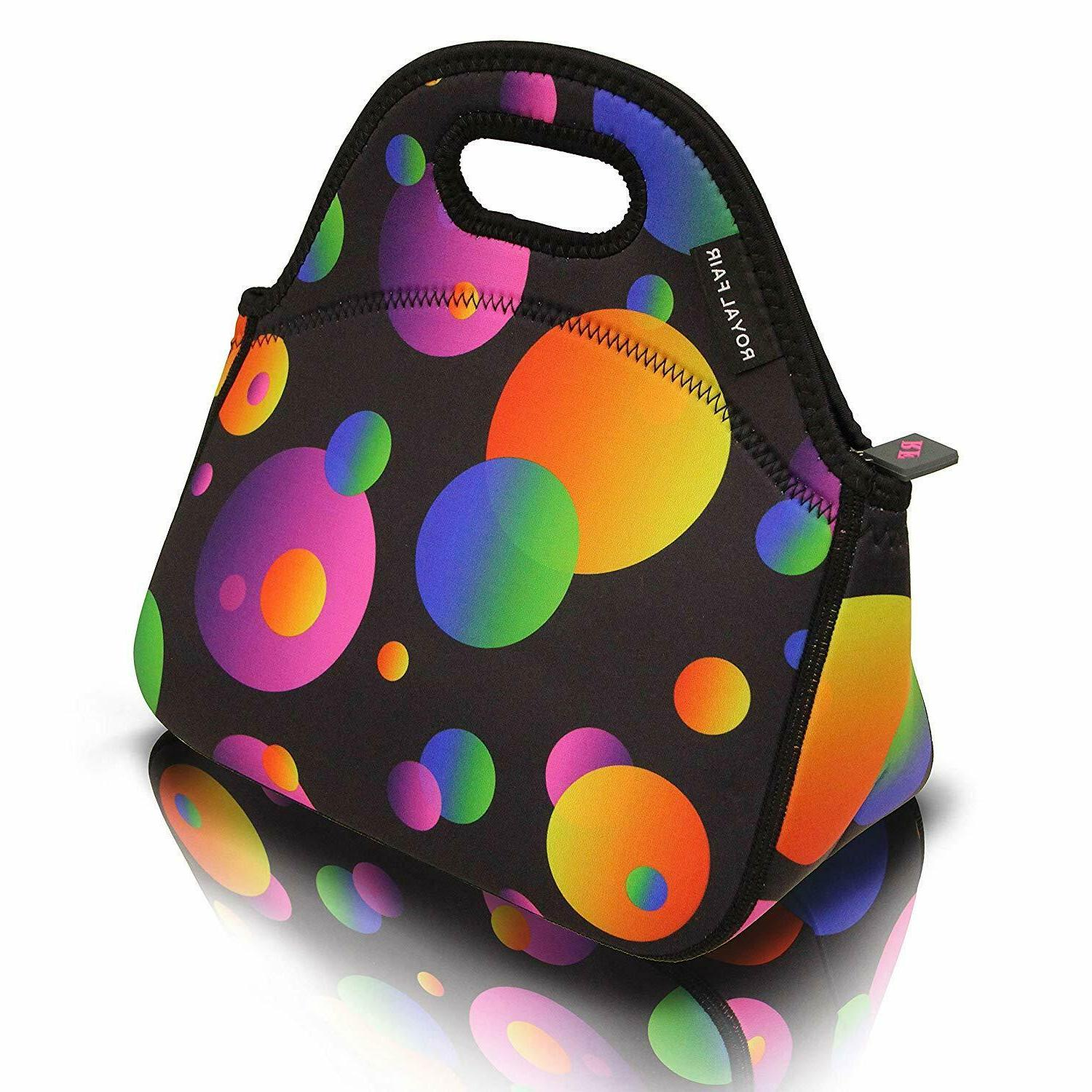neoprene lunch bag tote reusable healthy lunch