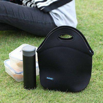 Cosfash Neoprene Lunch Insulated Picnic Bags for