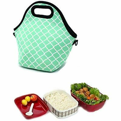 Orchidtent Lunch Water Resistant Case Tote With Box