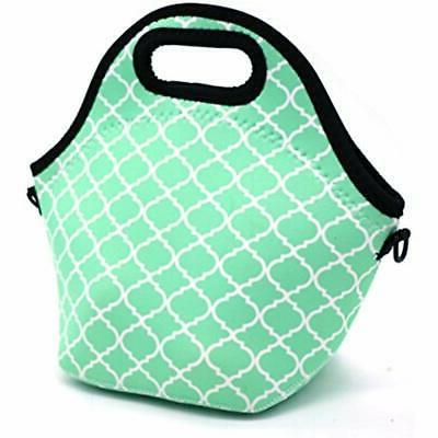neoprene lunch bags water resistant portable carry