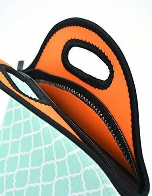 Orchidtent Neoprene Water Portable Lunch Case