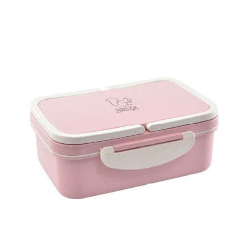 NEW Eco-friendly Microwave Bento Lunch Food Container Storage