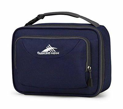 new single compartment lunch bag true navy