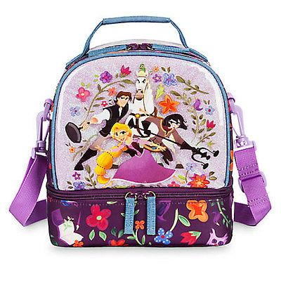 nwt disney store rapunzel lunch box tote