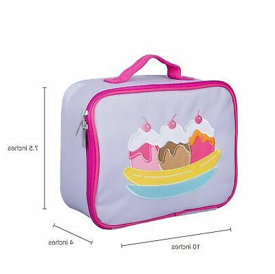Olive Kids Embroidered Lunch Box Size