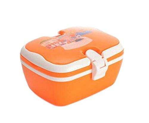 orange rectangle outdoor cartoon lunch box candy