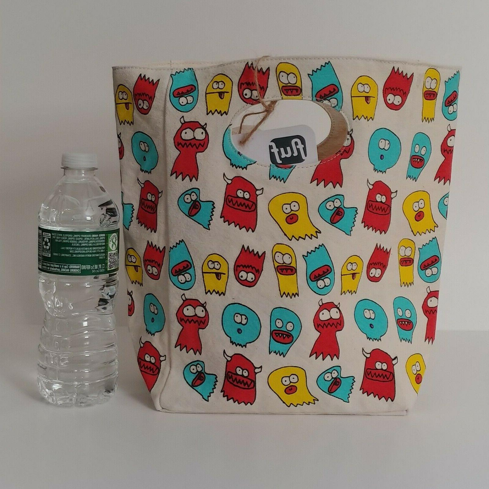 Fluf Canvas Lunch Box Jelly Ghosts