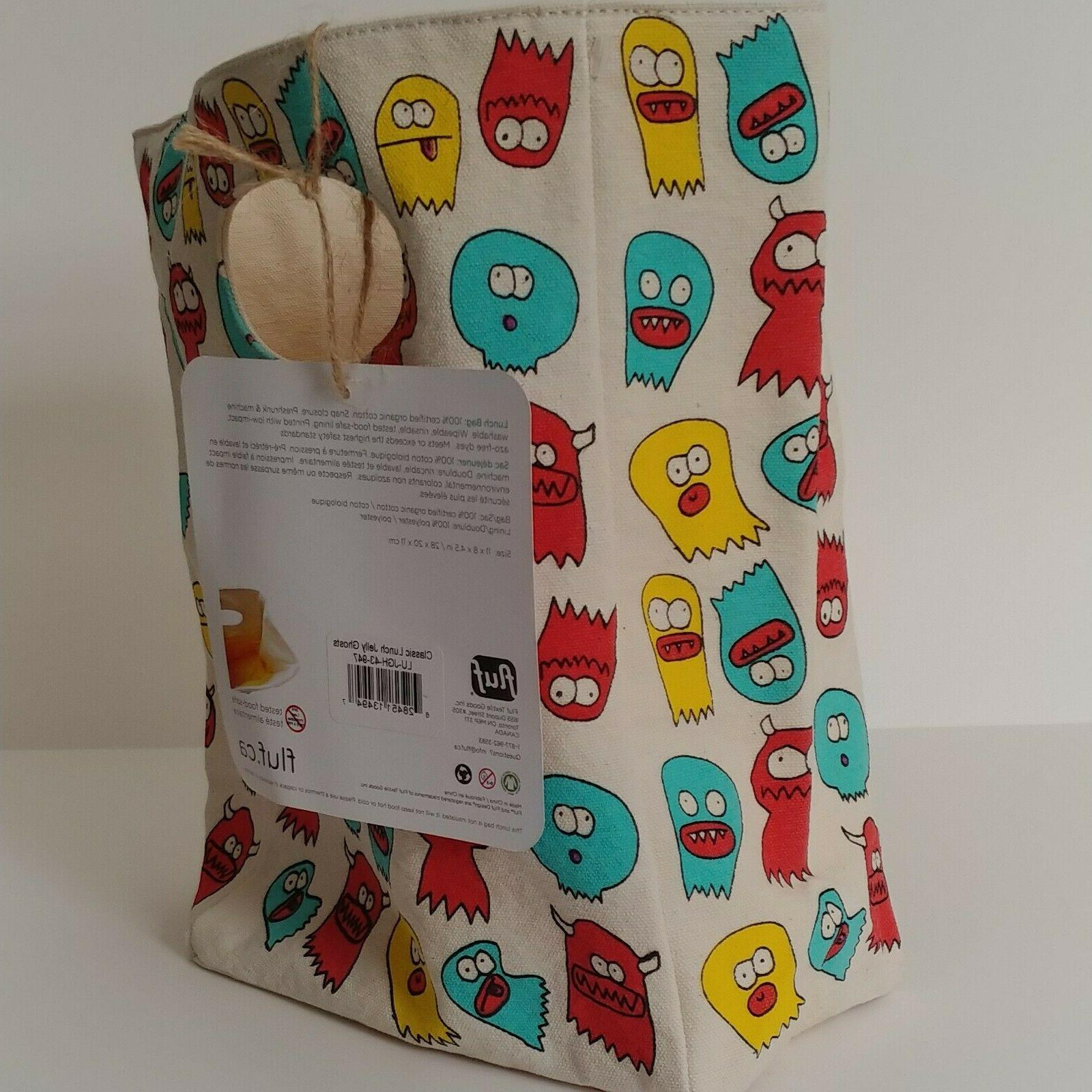 Fluf Canvas Lunch Bag Lunch Box Tote