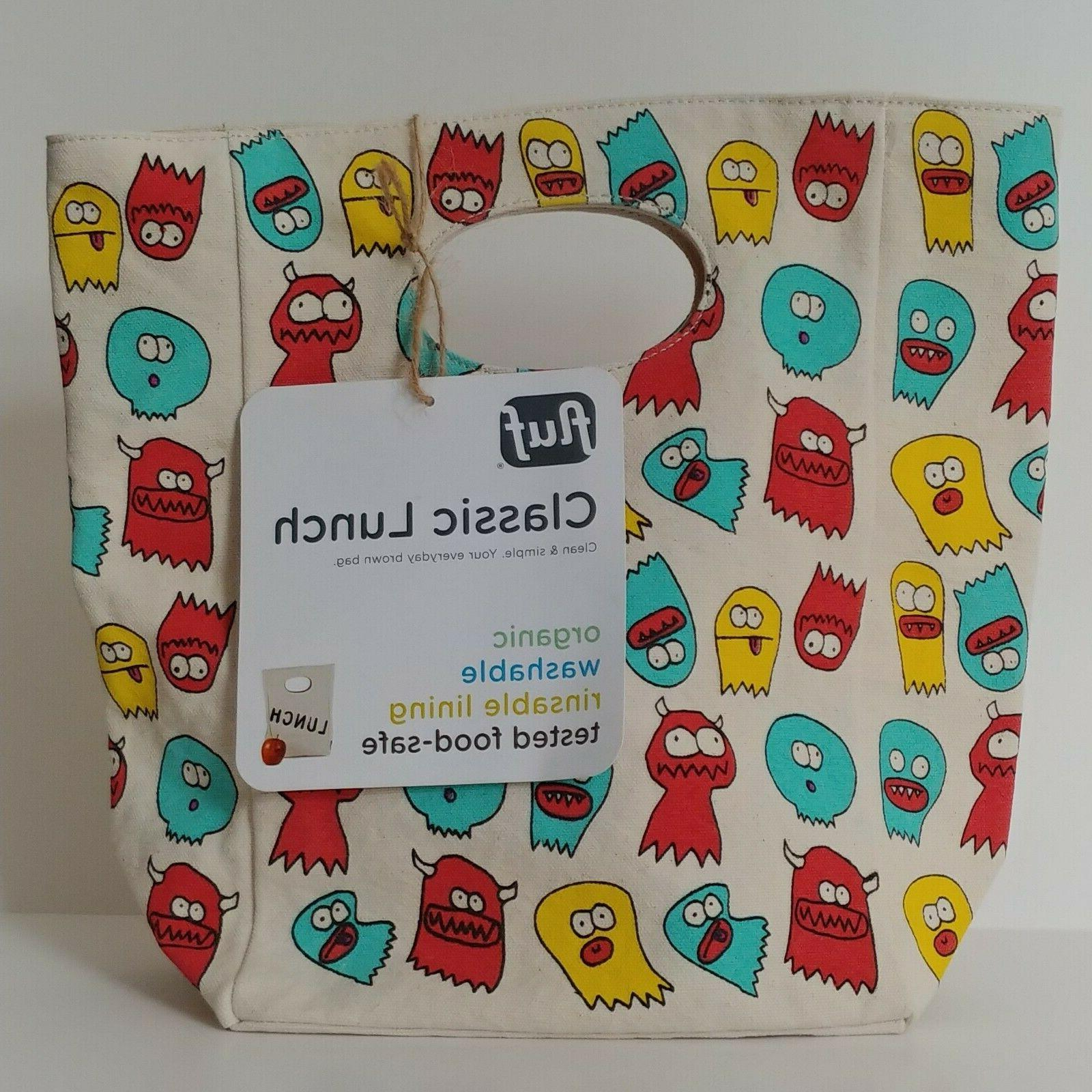 organic cotton classic canvas lunch bag lunch