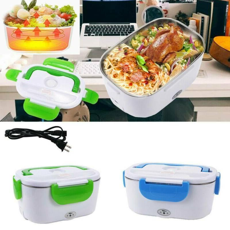 Portable 110V Electric Lunch Box Food Heater