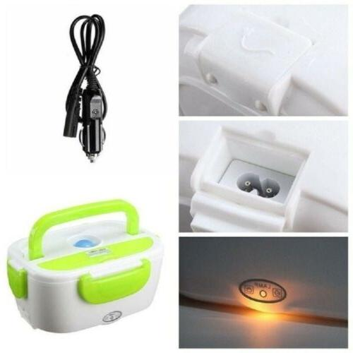 Portable Adapter Electric Lunch Box Compact Warmer New