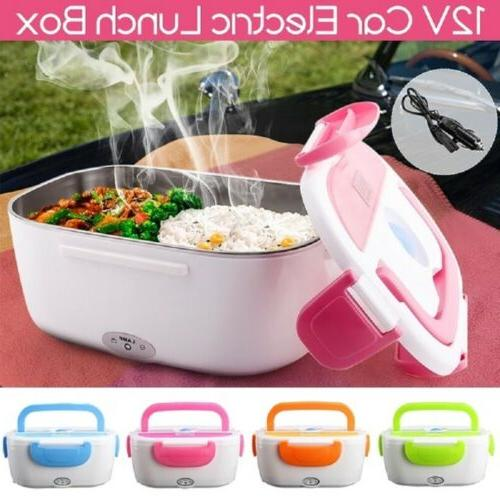 portable 12v car adapter electric lunch box