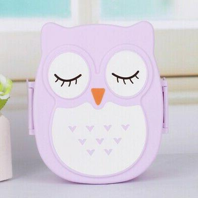 Portable Owl Box Food Storage Container for US