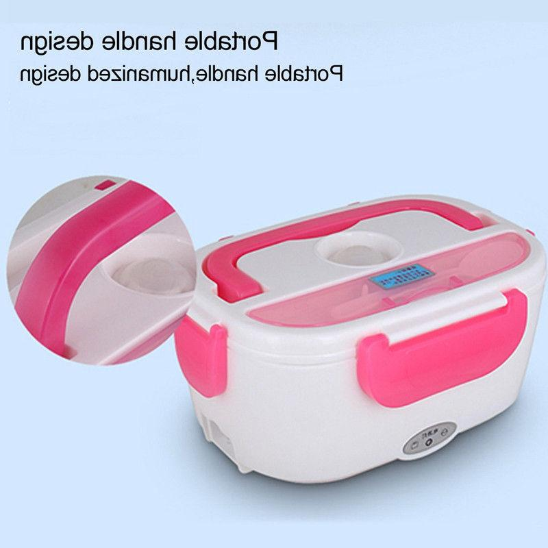 Portable Plug Heating Bento Travel Food Warmer 12V
