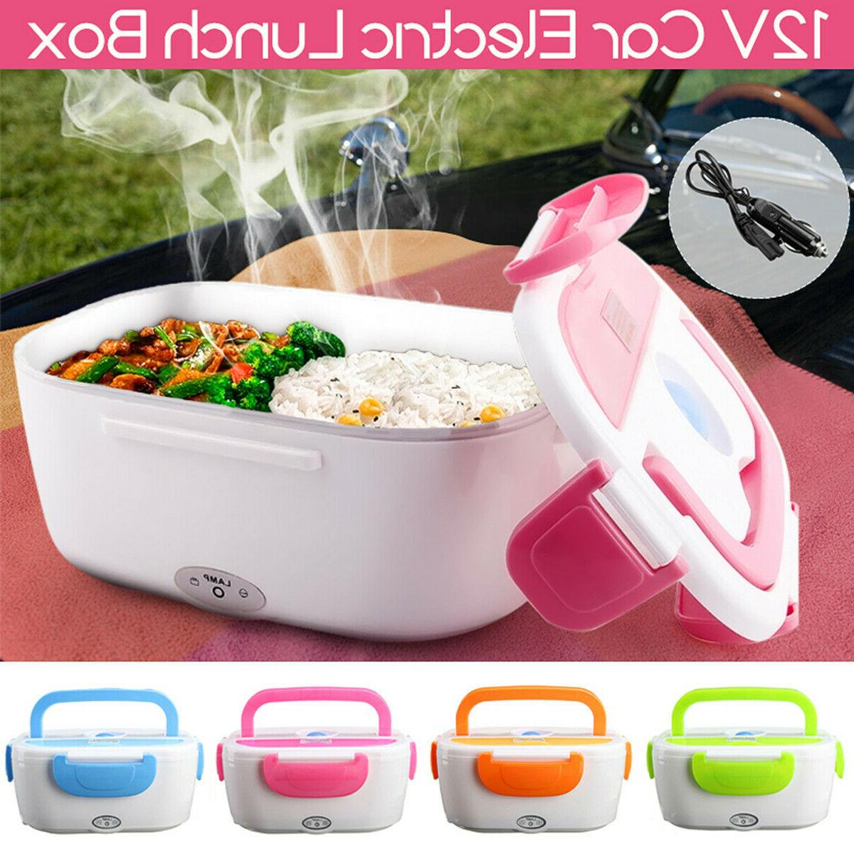 portable electric heated car plug heating lunch