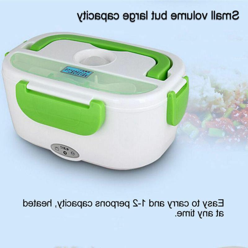 Portable Electric Plug Lunch Box Bento Travel 110V