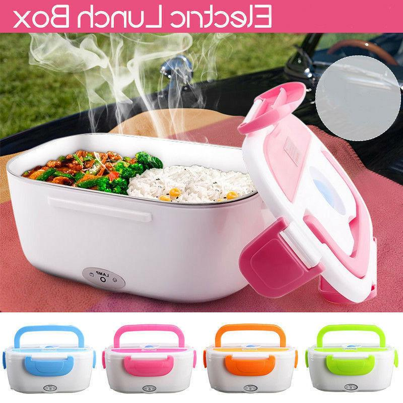 portable electric heated us plug heating lunch