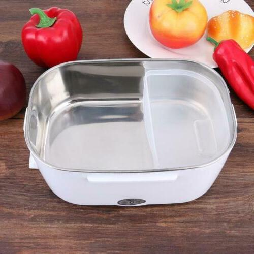 Portable Box Bento Heater Steel Container
